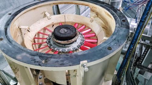 Préparation de la pompe pour la réception du moteur