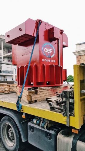 Livraison du moteur 7 tonnes