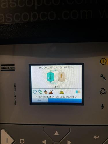Centrale d'air comprimé générateur d'azote